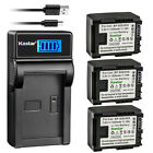 Kastar Battery LCD USB Charger for Canon BP-809 Canon VIXIA HF M31 HFM31 Camera