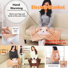 80CM Smart Timing Electric Heating Blanket Warm Knee Shoulder Leg Hand Mat Pad