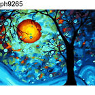 Hand-painted Painting By Numbers Landscape Oil Painting Wall Home Decor Surprise