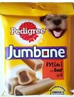 Dog Treat-Pedigree Jumbone Small Mini Beef 20 x Packs of 4 (180g) Special Offer