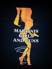 James Bond,   MARTINIS, GIRLS & GUNS.. black T-shirt $22.0 USD on eBay