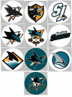 "San Jose Sharks Set of 10 Buttons or Magnets Set 1.25"" NEW $4.5 USD on eBay"