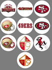San Francisco 49ers Set of 10 Buttons or Magnets NEW 1.25 inch $4.5 USD on eBay