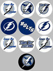 "Tampa Bay Lightning Set of 10 Buttons or Magnets Set 1.25"" NEW $5.0 USD on eBay"