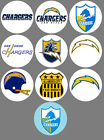 "San Diego Chargers Set of 10 Buttons or Magnets Set 1.25"" NEW $4.5 USD on eBay"
