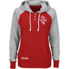 NBA Majestic Houston Rockets Women's Red Overtime Madness Pullover Hoodie Jacket on eBay