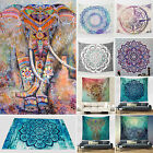 Uk Indian Tapestry Large Wall Hanging Mandala Hippie Bedspread Throw Beach Towel