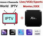 X96 mini Android 7.1 box with Neotv IPTV yearly code 4k TV Box 4800+ VOD Movies