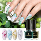 BORN PRETTY 6ml Blossom Nail Polish Watercolor Ink Purple Nail Art DIY Design