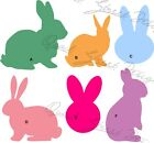 Bunny Silhouette 6 Different Views- You Pick - Vinyl Decal Free Shipping 007 $3.0 USD on eBay