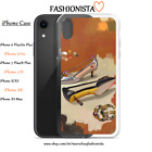 FASHION GUCCI Cases For iPhone 6 7 8 X XS XR 7/8 plus ART ILLUSTRATION SHOES