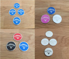 Magnetic Callaway golf ball markers (in sets of 2, 3 & 4)