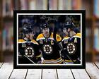 Boston Bruins Team Leaders Autograph Replica Print - Chara Marchand Bergeron - D $39.99 USD on eBay