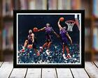 Vince Carter Autograph Replica Print - Dunk Time Lapse - Toronto Raptors - Deskt on eBay