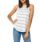 Gentle Fawn New With Tags Bianca Striped Tank White/Black