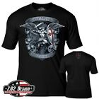 St Michael Defend Us T-Shirt- 7.62 Design Men's Tee Shirt