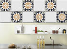 Tile stickers for kitchen, bathroom, floor tiles, stairs riser - SET OF 10 - n22