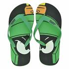 Looney Tunes Marvin The Martian Adult Flip Flop Thong Sandals Beach New