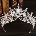 LUXURY Baroque Wedding Bridal Tiara Vintage Queen Crystal Crown Headband NEW