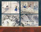 Korean Antique Art - Cultural Landscape by Shin Yun Bok -9
