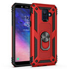 For Samsung Galaxy S10e/S10+/J4/J6 Plus A6 2018 Shockproof Armor Ring StandCase