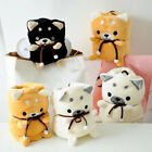 1pc Shiba Inu Warm Flannel Blanket Air Conditioning Bed Sheets Towel Cute Gifts image