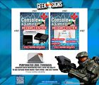 Game Console Repair Sales Nintendo Wii Xbox PS3 PSP WII U video game SIGN BANNER