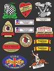 VINTAGE MOTORCYCLE DEALER DECALS  OLD SCHOOL $5.0 USD on eBay