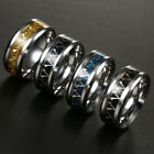 Assassins Creed Titanium Steel  Band Ring Stainless Men Size 6-13  multi-colored image