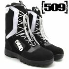 509 RAID LACED Black/White  SNOWMOBILE SNOW BOOTS -  Sizes   12  or  13  -  NEW