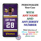 MINNESOTA VIKINGS FOOTBALL PHONE CASE COVER FOR iPHONE SAMSUNG etc NAME $26.98 USD on eBay