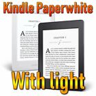 Amazon Kindle Paperwhite High-Resolution Display 300 ppi with Light ebook reader