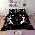 Film Poster Duvet cover Bedding set Pillowcase Black panther 4# Film characters