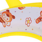 Cute Portable Easy Clean Potty Training Toilet Seat with Arms for Unisex Toddler