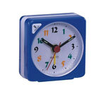 Small Travel Alarm Clock Gradient Sound Table Bedside Clock Snooze Nightlight