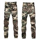 Hot Sale Men Spring Trousers Cotton Blend Camouflage Loose Skinny Long Pants New