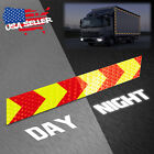 DOT-C2 Conspicuity Arrow Reflective Tape Stripe 1 Foot Safety Warning Trailer RV