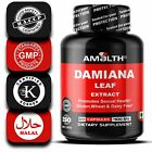 DAMIANA LEAF EXTRACT TURNERA DIFFUSA 400MG CAPSULES ENHANCE SEXUAL ACTIVITY