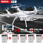 Genuine SYMA X5SW FPV Wifi Camera View Real Time Video RC Quadcopter Drones 2.4G