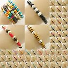 Bead Bracelet Wristband Beaded Boho Surfer Style Mens Ladies Womens Jewellery Uk