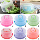 Plastic Cake Carrier Airtight Container Storage For Cake, Cupcakes, Dessert