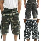 Cargo Shorts For Men Camouflage Army Fatigue ** BIG SIZES **