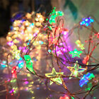 LED Star Lights Battery Garden Fairy String Micro Wedding Party Bedroom Decor