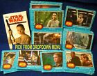 2017 Topps Star Wars Journey to the Last Jedi Blue Base Cards YOU PICK-1 image
