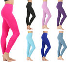 Womens Classic Seamless Long Leggings Nylon Line Detailing Regular Plus Sizes