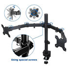 Single /Dual Arm Monitor Desk Mount Computer TV Screen Bracket Stand 13-27''