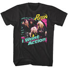 Poison I Want Action Mens T Shirt Metal Rock Band Album Cover Concert Tour Merch image