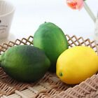 Large Lemons Decorative Ornament Simulation Fruit Home Decor Furnishing Plastic