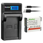 Kastar Battery LCD USB Charger for NP-130 & Casio Exilim EX-10 Exilim EX-100