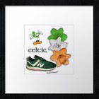 "Celtic FC 19 print or canvas print. Example shown 10"" framed print £21.50"
